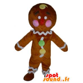 Ti biscotto mascotte, famoso panpepato in Shrek - MASFR23417 - Mascotte Shrek