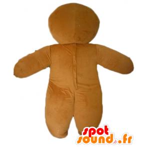 Ti μπισκότο μασκότ, διάσημη μελόψωμο στο Shrek - MASFR23438 - Σρεκ Μασκότ