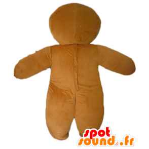 Ti cookie maskot, slavný perník v Shrek - MASFR23438 - Shrek Maskoti