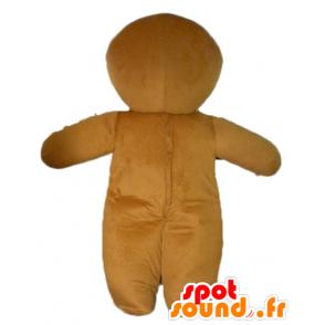 Ti mascote biscoito, famoso pão de gengibre em Shrek - MASFR23447 - Shrek Mascotes