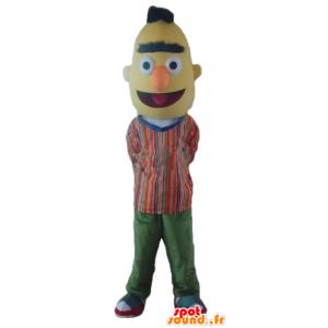 Mascotte Bart, the famous yellow Sesame Street puppet