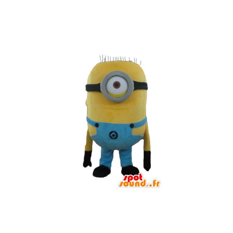 Minion mascota famoso personaje de dibujos animados de color