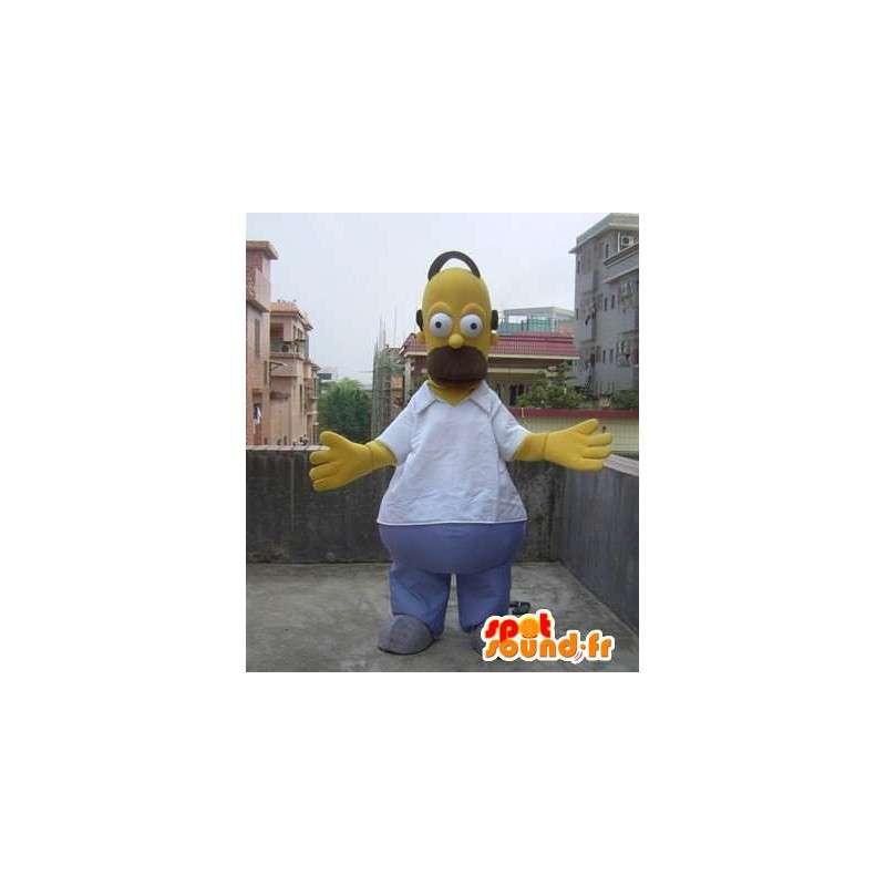 Disfraces de la mascota del Omer Simpson - Familia Simpson - MASFR00502 - Mascotas de los Simpson