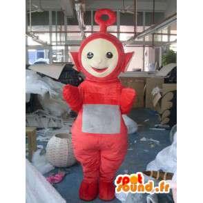 Traje Little Red Snowman - espacio Disguise - MASFR001184 - Mascotas humanas