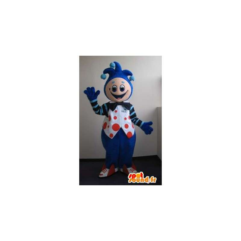 Mascot Jester, clown costume - MASFR001665 - Circo mascotte