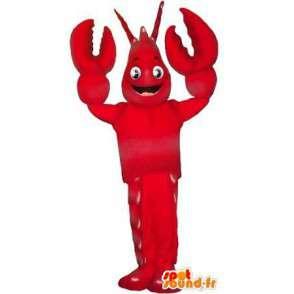 Maskot červená humr korýš převlek - MASFR001758 - maskoti Crab