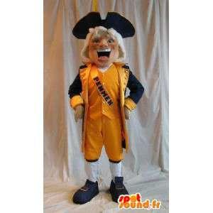 Mascota de caballero holandés traje Holanda