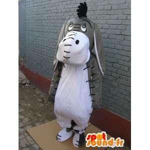 Mascot Shrek - Donkey - Ezel - Kostuum en de vermomming