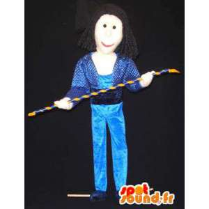 Mascot acrobata del circo - Circo Costume