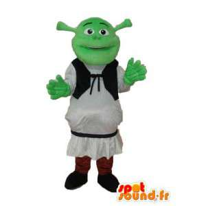 Mascotte van de ogre Shrek - Costume verschillende maten