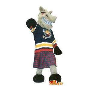 Mascot pony boxeador - envío gratis