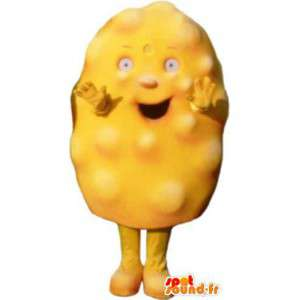 Adult mascot costume suit omelette