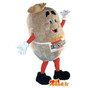 Cavendish traje de la mascota de la marca de patatas para adultos