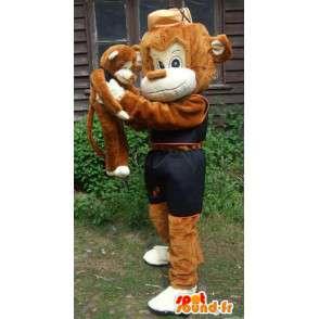 Mascotte de personnage ouistiti déguisement livraison gratuite - MASFR005422 - Mascottes TiTi et Grosminet