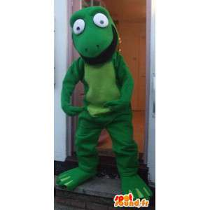Smok postać maskotki kostium uwalnia wysyłkę - MASFR005425 - smok Mascot