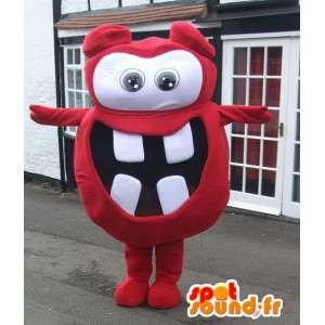 Nizza Monster Maskottchen Charakter Kostenloser Versand - MASFR005443 - Monster-Maskottchen