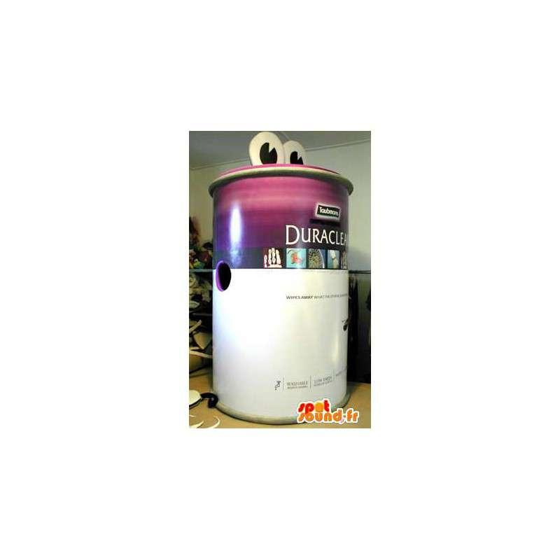 Mascotte de pot de peinture. Costume de produit d'entretien - MASFR005532 - Mascottes d'objets