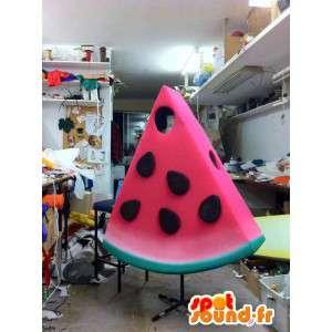 Maskottchen-förmigen Stück Wassermelone - MASFR005536 - Obst-Maskottchen
