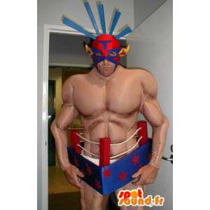 Mascot painija shirtless. disguise painija - MASFR005538 - Mascottes Homme