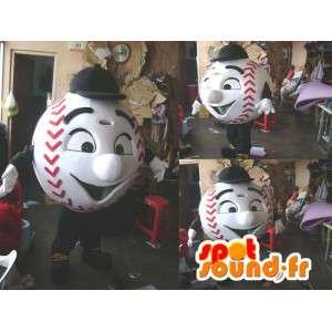 Mascote de beisebol. Costume de beisebol