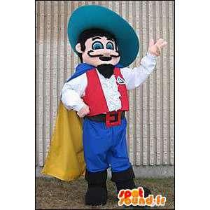 Musketier-Maskottchen.Musketier-Kostüm - MASFR005647 - Maskottchen der Soldaten