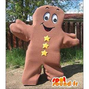 Mascot Keks Lebkuchen braun - MASFR005654 - Maskottchen von Gemüse