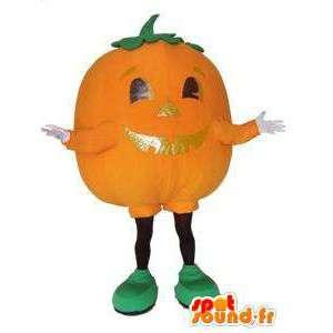 Pumpkin mascot. Pumpkin costume