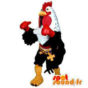 Hahn Maskottchen Boxer.Kostüm Hahn - MASFR005667 - Maskottchen der Hennen huhn Hahn