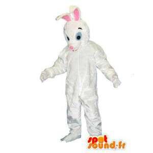 Gigantisk hvit kanin maskot. White Rabbit Costume - MASFR005727 - Mascot kaniner