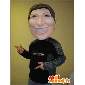 Mascot man dressed in a sports Mondetta - MASFR005753 - Human mascots