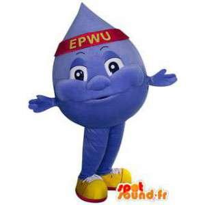 Mascot teardrop Giant water. Costume daling - MASFR005768 - Niet-ingedeelde Mascottes