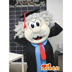Maskottchen-Lehrer.Diplom-Kostüm - MASFR005797 - Menschliche Maskottchen