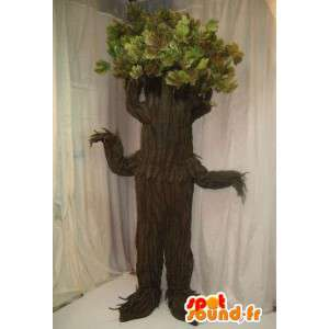 巨大な木のマスコット。木のコスチューム-MASFR005636-植物のマスコット