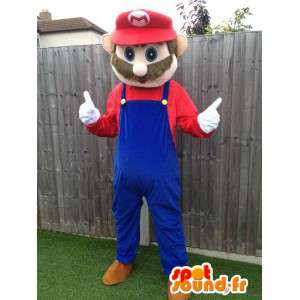 Mascot Mario, the famous video game character