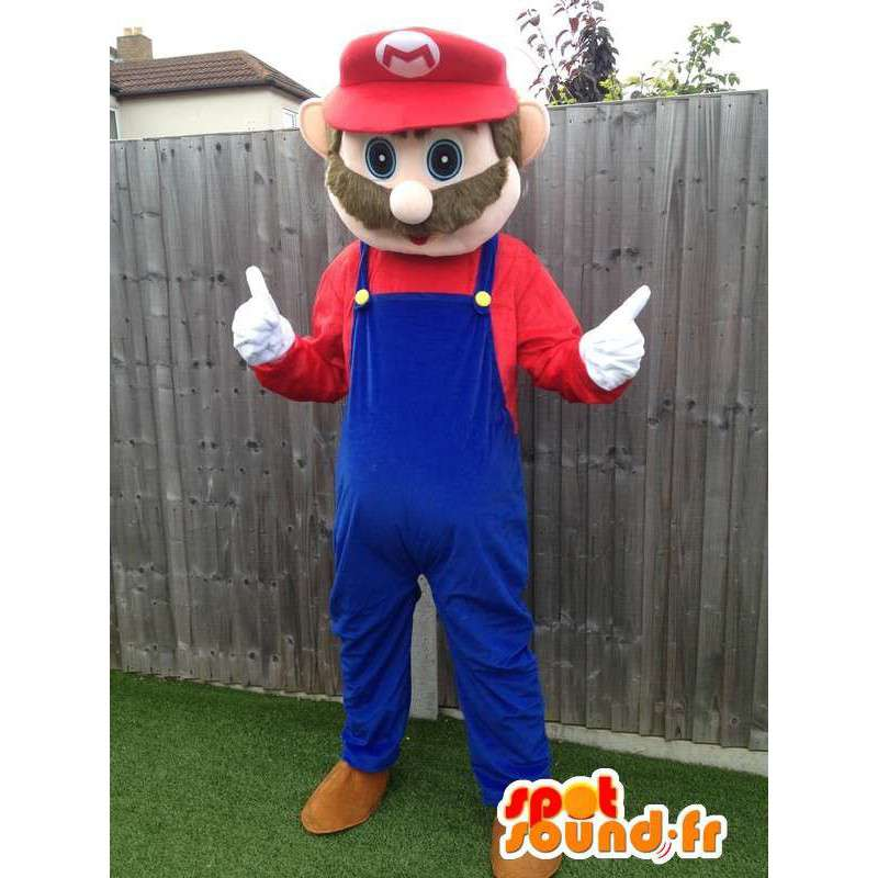 Mascot Mario, the famous video game character - MASFR006045 - Mascots Mario