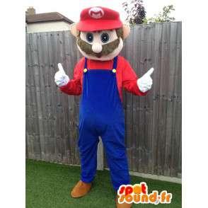 Mascotte de Mario, célèbre personnage de jeux vidéo - MASFR006045 - Mascottes Mario