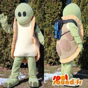 Mascot reuzenschildpad. Turtle Costume