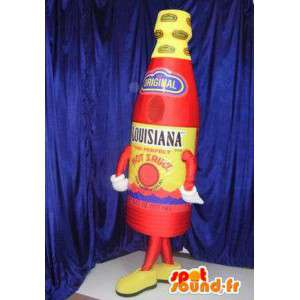 Mascot bottle of hot sauce - MASFR005821 - Mascots bottles