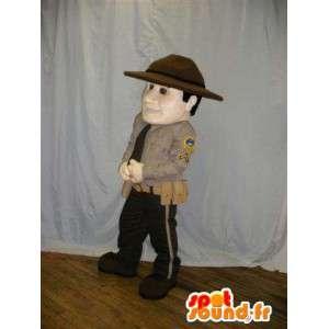 Rajavartioston maskotti. rajavartija Costume - MASFR005840 - Mascottes Homme