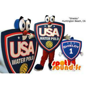 Mascot waterpolo, reuzegrootte - MASFR005843 - Niet-ingedeelde Mascottes