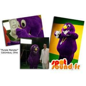 Purple monster mascot. Monster Costume - MASFR005848 - Monsters mascots