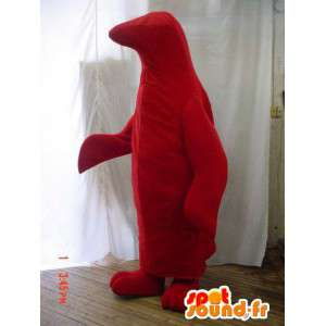 Red pingwin maskotka, konfigurowalny - MASFR005892 - Penguin Mascot