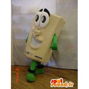 Mascot reus schakelaar. schakelaar suit - MASFR005895 - mascottes objecten
