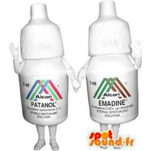 Mascots solutions for the eyes. Pack of 2 - MASFR005902 - Mascots bottles