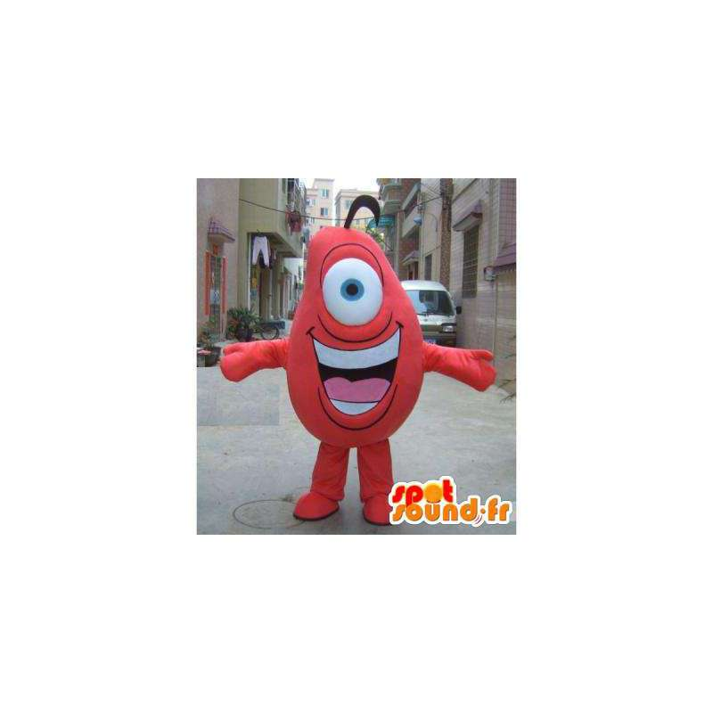 Purchase Monster Red Mascot One Eye In Monsters Mascots