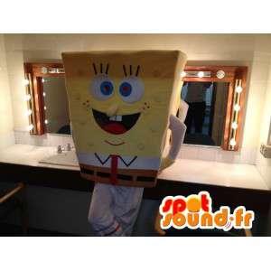 Mascotte de Bob l'éponge, célèbre personnage de dessin animé