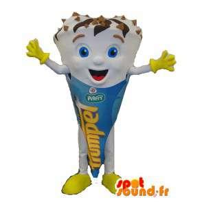 Mascot giant ice cream cone - MASFR006081 - Fast food mascots