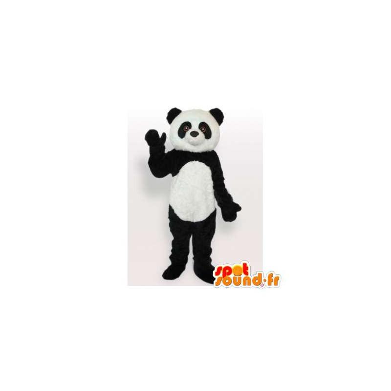 mascot schwarz und weiss panda panda kostum masfr006114 maskottchen der pandas