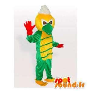 Maskotka zielony i żółty ptak. Kostium ptak - MASFR006119 - ptaki Mascot