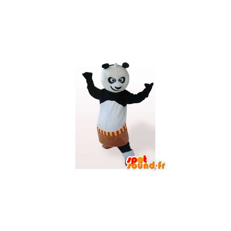 Kung Fu Panda mascot. Cartoon costume - MASFR006182 - Mascot of pandas